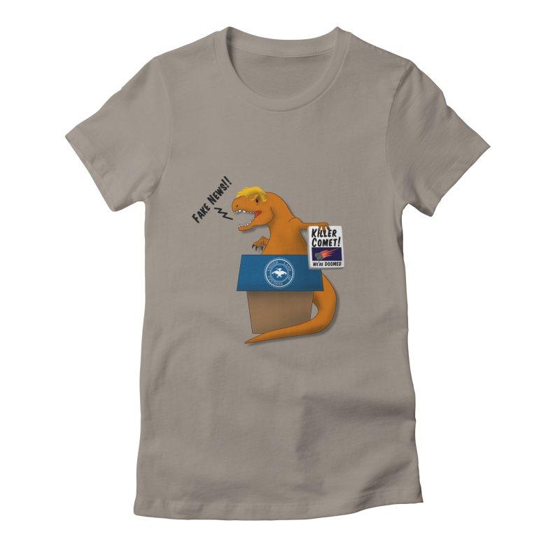 Trump-Rex Women's Fitted T-Shirt by little g dehttps://www.threadless.com/profile/arti