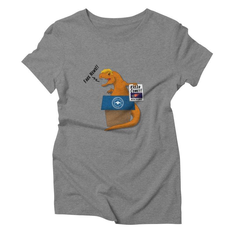 Trump-Rex Women's Triblend T-Shirt by little g dehttps://www.threadless.com/profile/arti