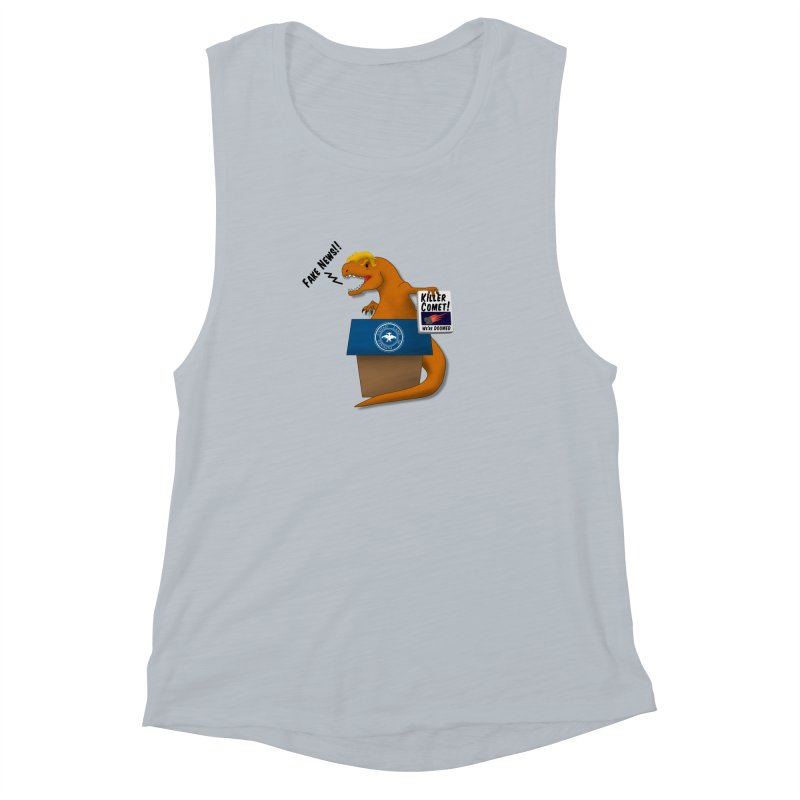 Trump-Rex Women's Muscle Tank by little g dehttps://www.threadless.com/profile/arti