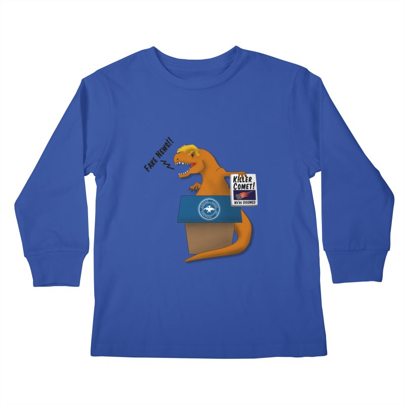 Trump-Rex Kids Longsleeve T-Shirt by little g dehttps://www.threadless.com/profile/arti