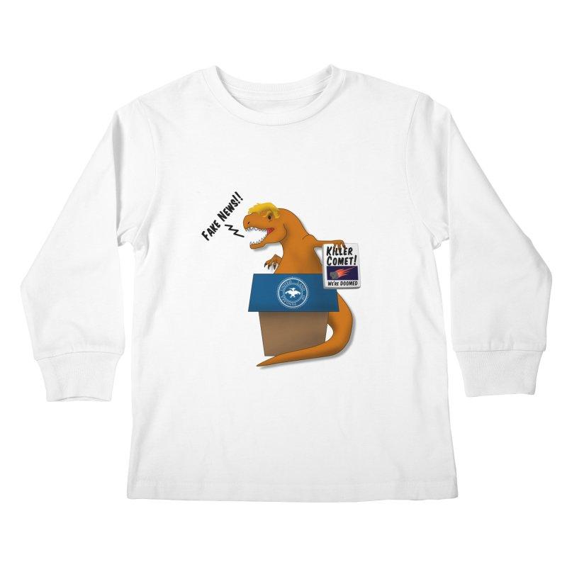 Trump-Rex Kids Longsleeve T-Shirt by little g dehttps://www.threadless.com/profile/arti