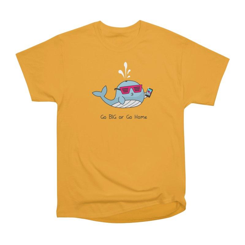 Go Big Men's Heavyweight T-Shirt by little g dehttps://www.threadless.com/profile/arti