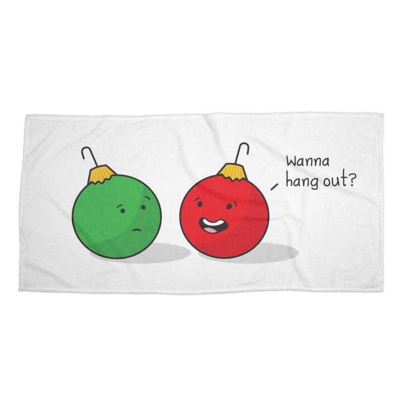 Hanging Ornaments Accessories Beach Towel by little g dehttps://www.threadless.com/profile/arti