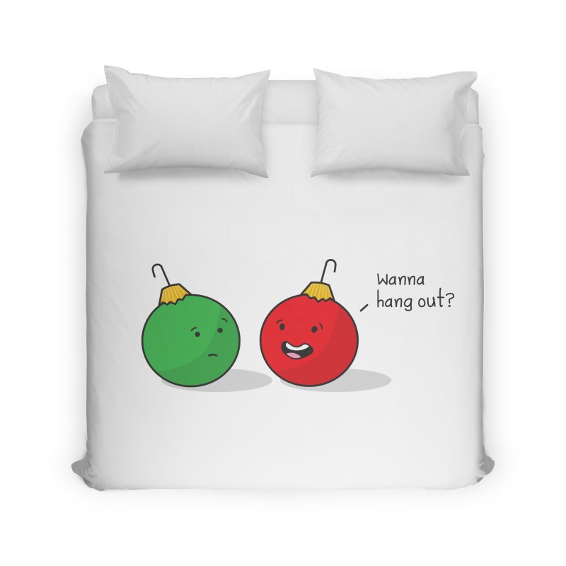 Hanging Ornaments Home Duvet by little g dehttps://www.threadless.com/profile/arti