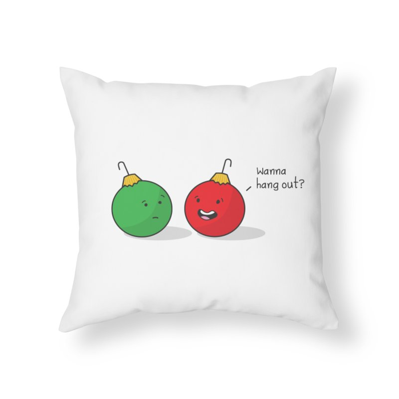 Hanging Ornaments Home Throw Pillow by little g dehttps://www.threadless.com/profile/arti