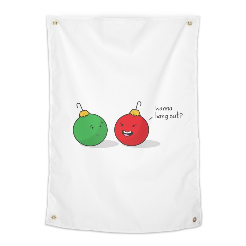 Hanging Ornaments Home Tapestry by little g dehttps://www.threadless.com/profile/arti
