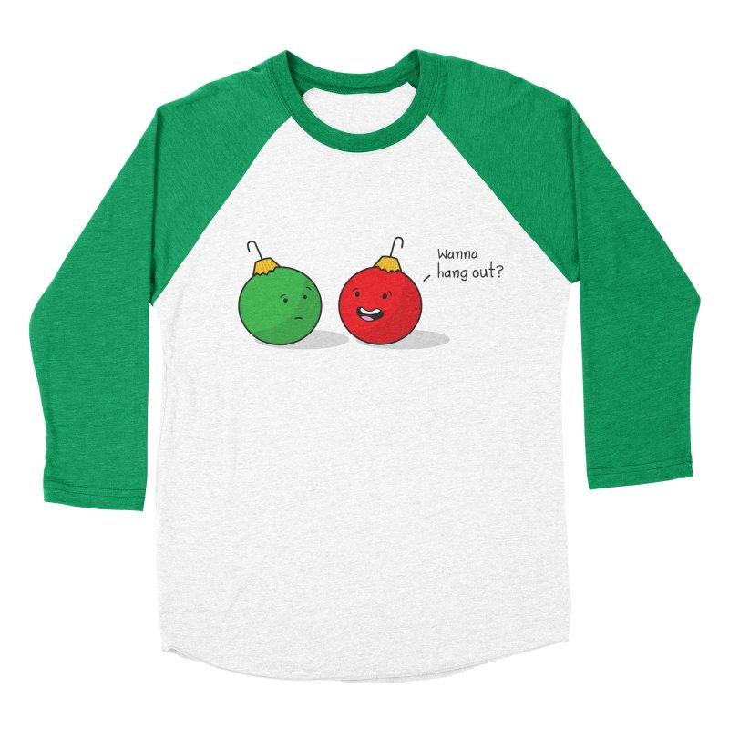 Hanging Ornaments Men's Baseball Triblend T-Shirt by little g dehttps://www.threadless.com/profile/arti