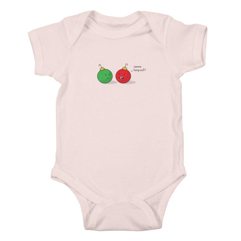 Hanging Ornaments Kids Baby Bodysuit by little g dehttps://www.threadless.com/profile/arti