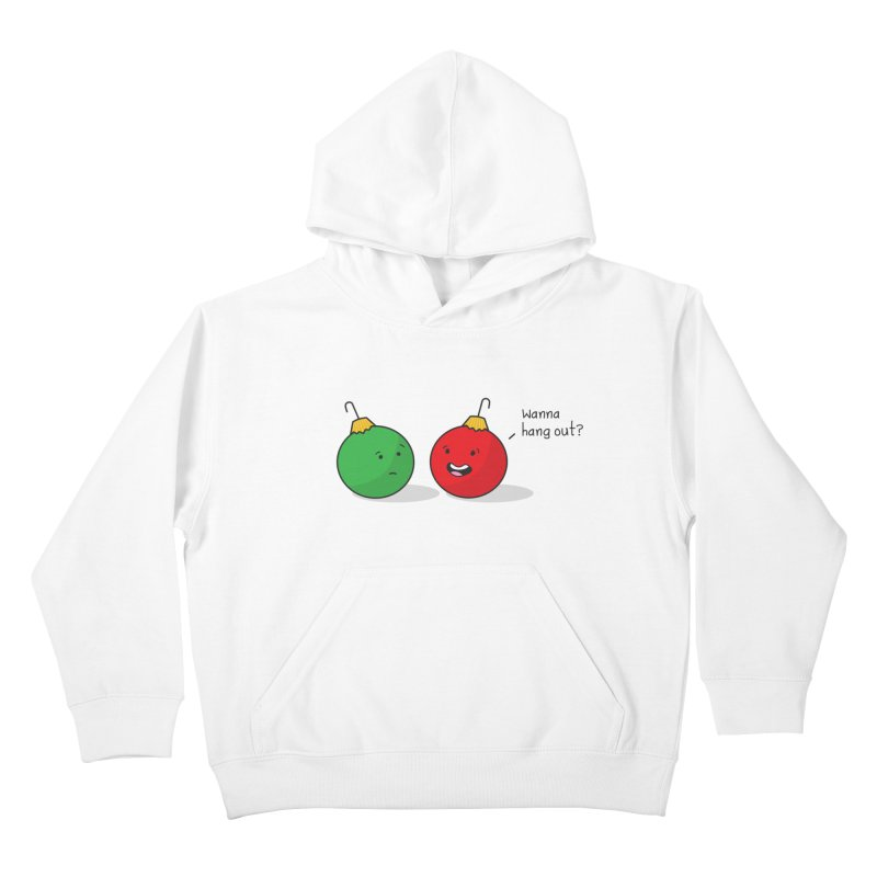 Hanging Ornaments Kids Pullover Hoody by little g dehttps://www.threadless.com/profile/arti