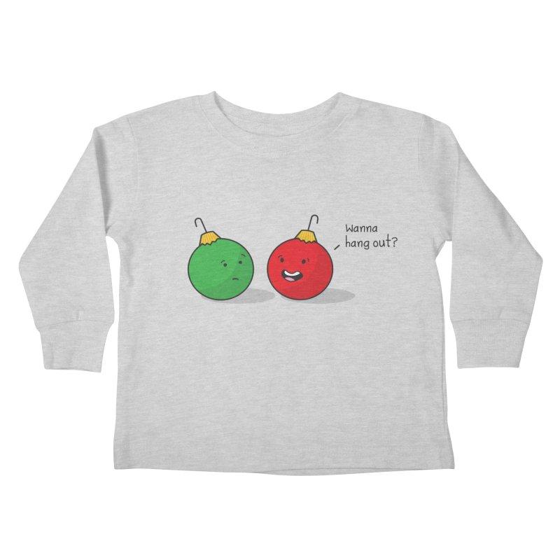 Hanging Ornaments Kids Toddler Longsleeve T-Shirt by little g dehttps://www.threadless.com/profile/arti
