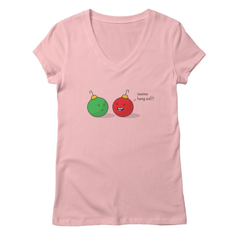 Hanging Ornaments Women's V-Neck by little g dehttps://www.threadless.com/profile/arti