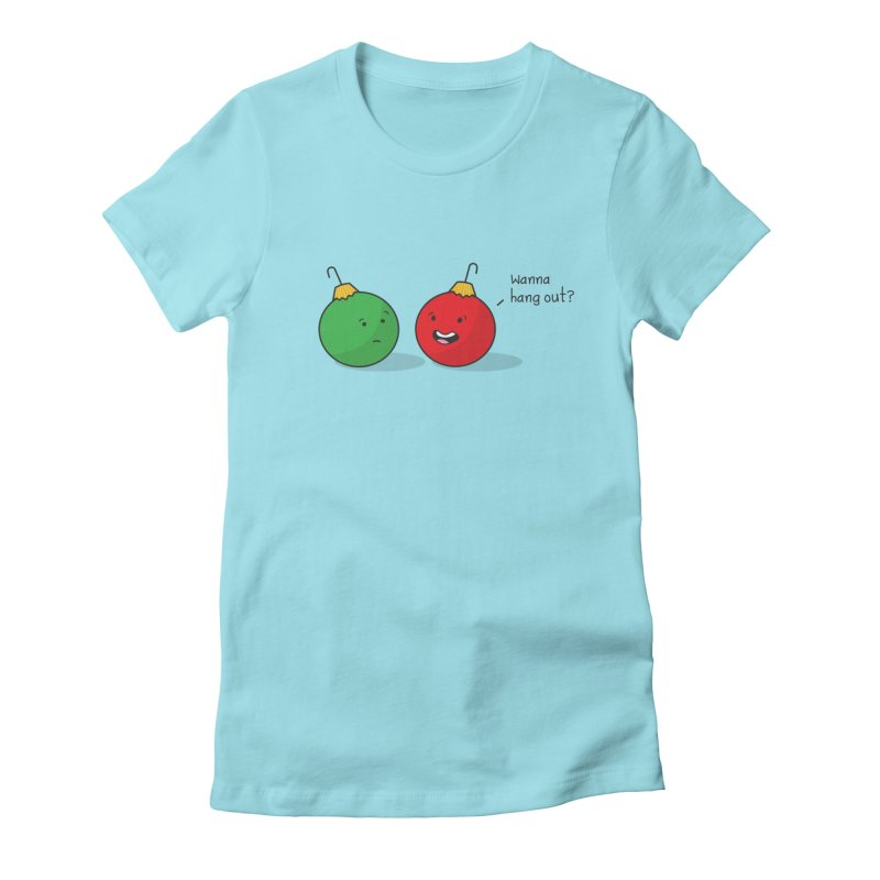 Hanging Ornaments Women's Fitted T-Shirt by little g dehttps://www.threadless.com/profile/arti