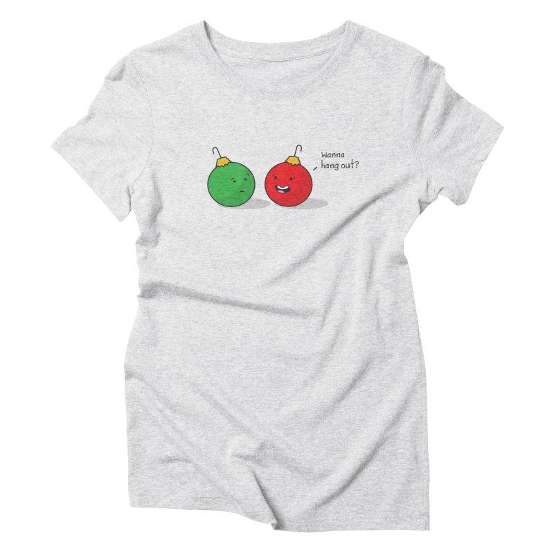 Hanging Ornaments Women's Triblend T-Shirt by little g dehttps://www.threadless.com/profile/arti