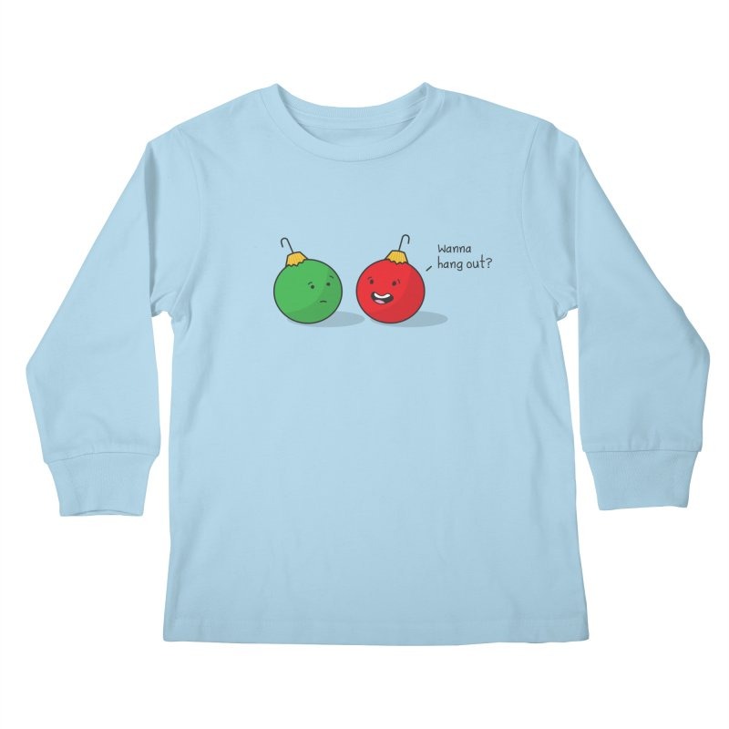 Hanging Ornaments Kids Longsleeve T-Shirt by little g dehttps://www.threadless.com/profile/arti