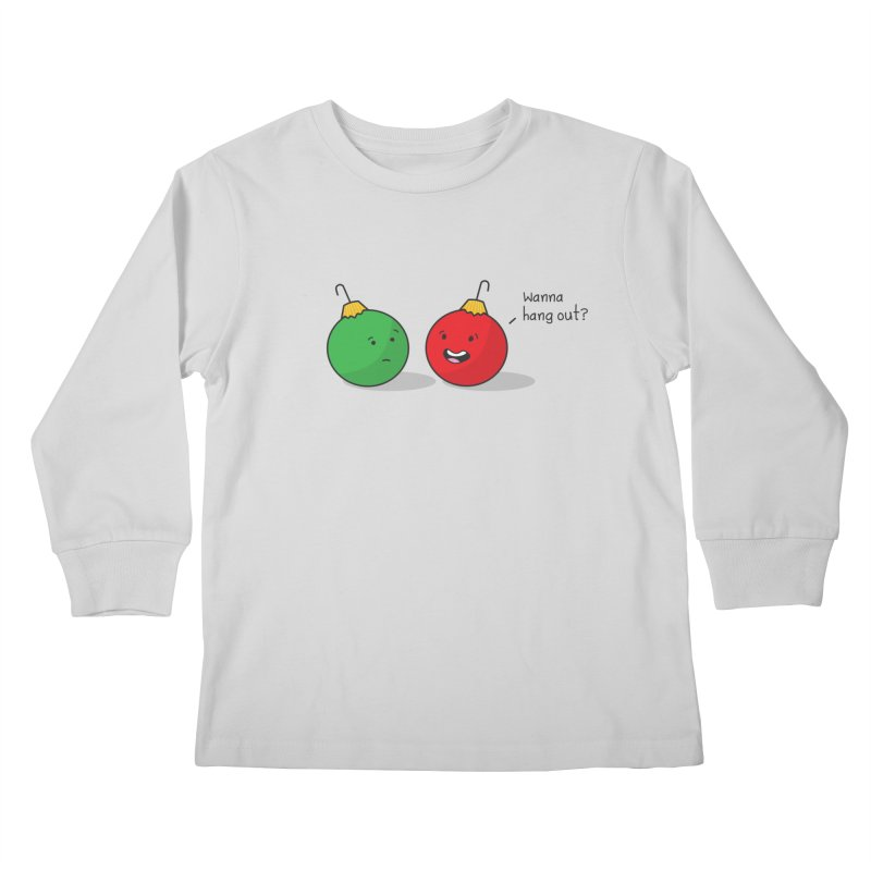 Hanging Ornaments Kids Longsleeve T-Shirt by little g dehttps://www.threadless.com/profile/arti