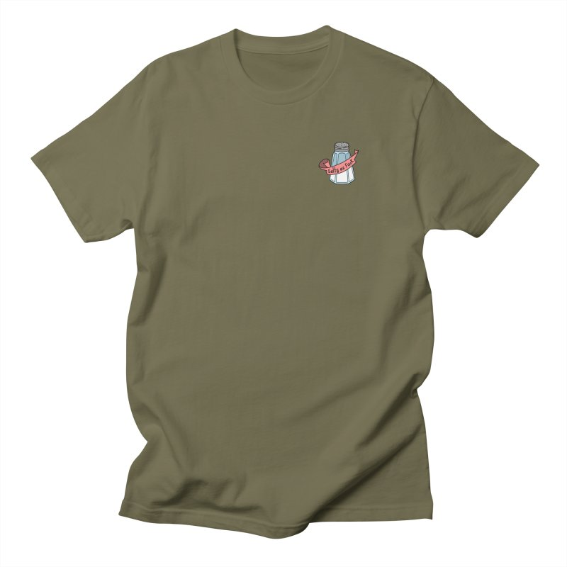Salty As Fuck - (Small Left Chest) Women's Unisex T-Shirt by little g dehttps://www.threadless.com/profile/arti