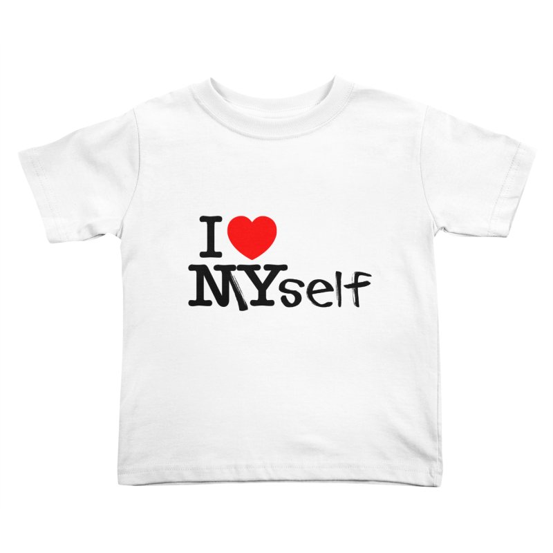 I Love MYself Kids Toddler T-Shirt by little g dehttps://www.threadless.com/profile/arti