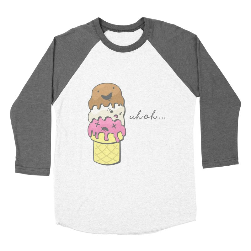 The Triple Decker Catastrophe  Women's Baseball Triblend T-Shirt by little g dehttps://www.threadless.com/profile/arti
