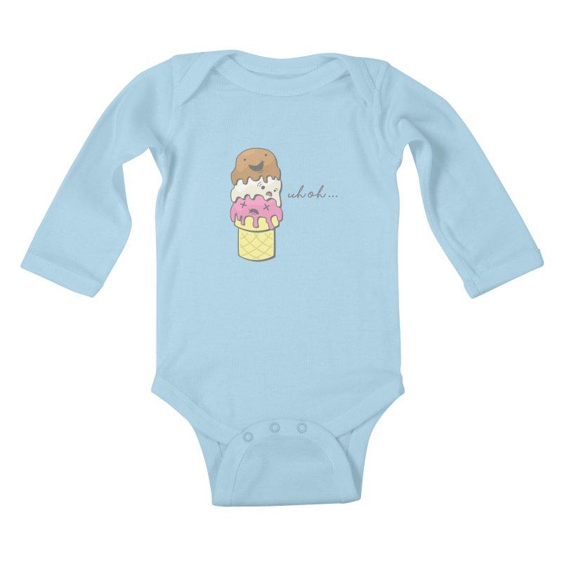 The Triple Decker Catastrophe  Kids Baby Longsleeve Bodysuit by little g dehttps://www.threadless.com/profile/arti