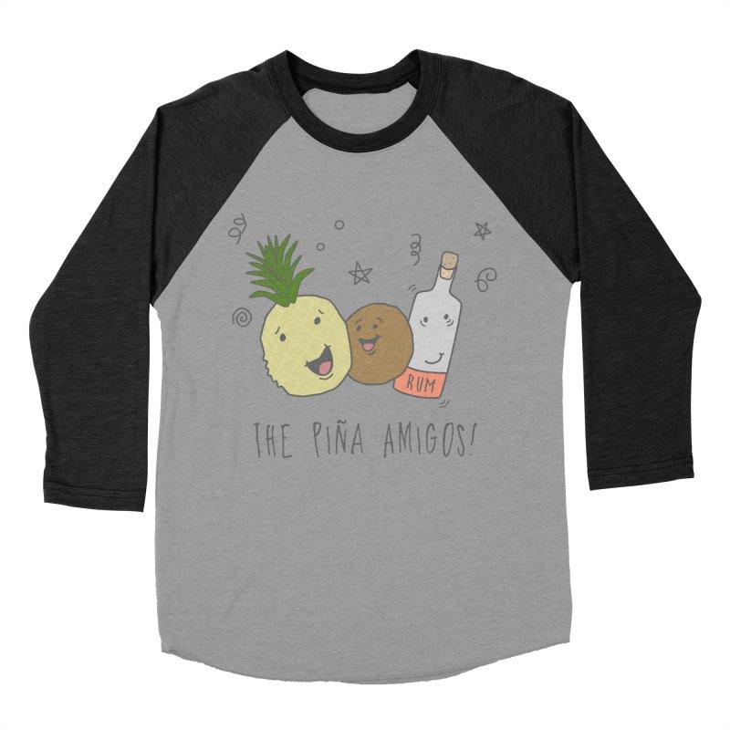 The Pina  Amigos! Men's Baseball Triblend T-Shirt by little g dehttps://www.threadless.com/profile/arti