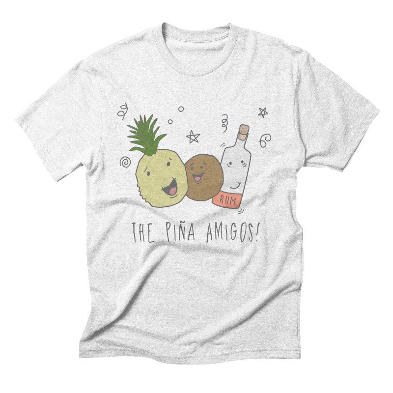 The Pina  Amigos! Men's Triblend T-shirt by little g dehttps://www.threadless.com/profile/arti