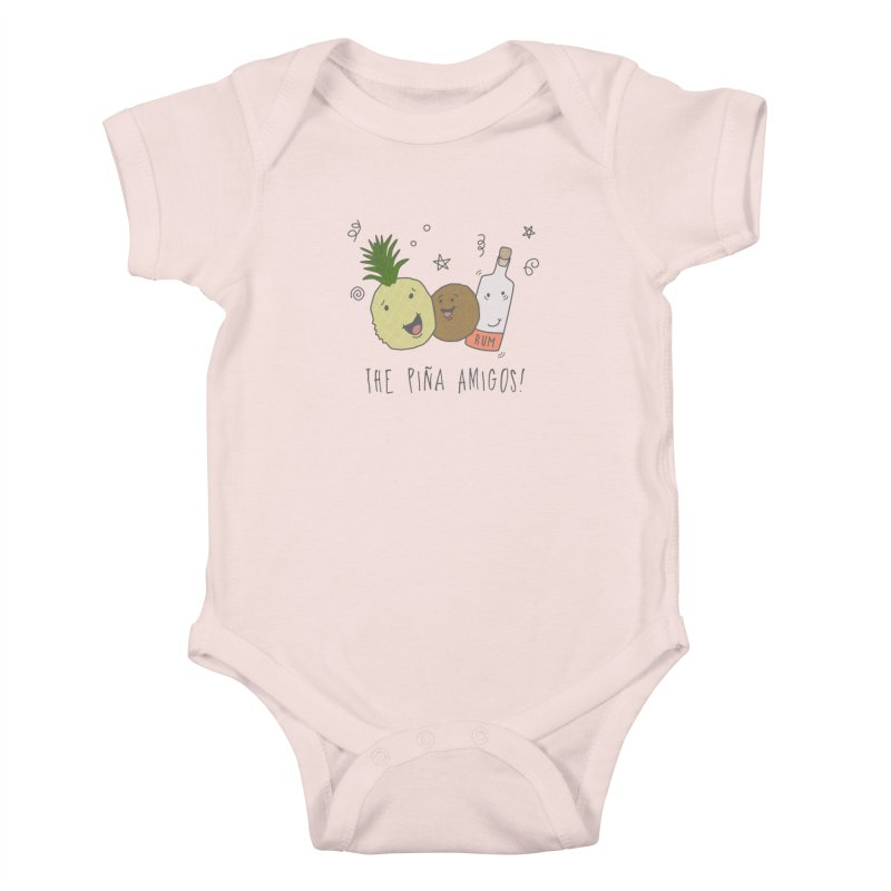 The Pina  Amigos! Kids Baby Bodysuit by little g dehttps://www.threadless.com/profile/arti