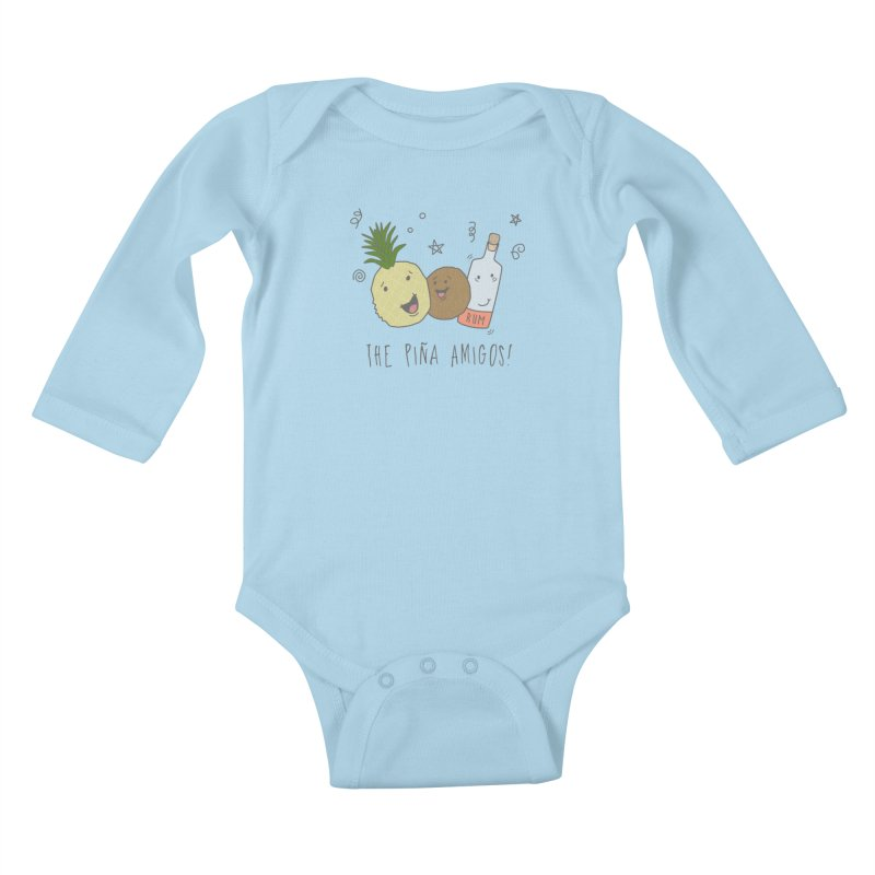 The Pina  Amigos! Kids Baby Longsleeve Bodysuit by little g dehttps://www.threadless.com/profile/arti