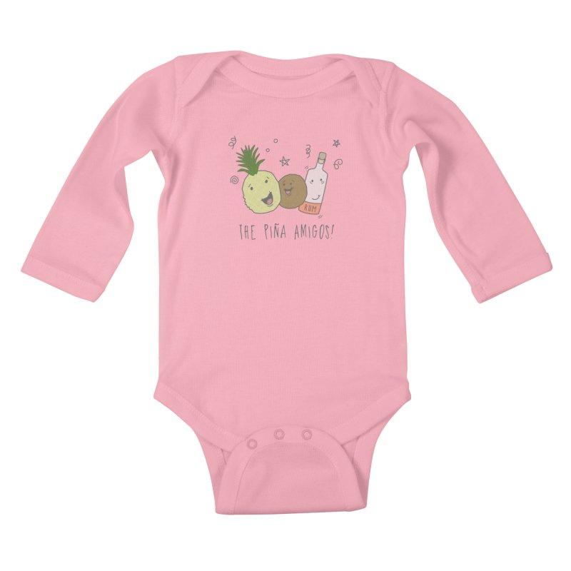 The Pina  Amigos! Kids Baby Longsleeve Bodysuit by little g dehttps://www.threadless.com/profile/arti