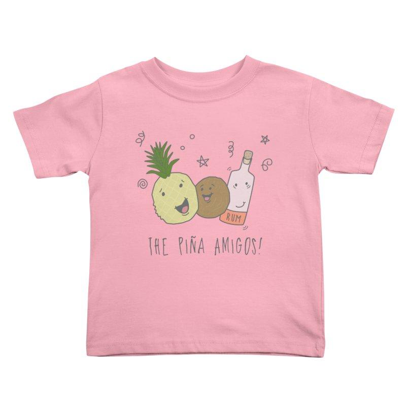 The Pina  Amigos! Kids Toddler T-Shirt by little g dehttps://www.threadless.com/profile/arti