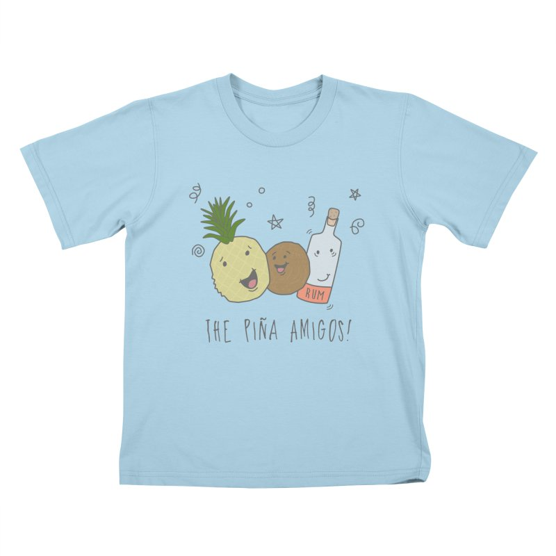 The Pina  Amigos! Kids T-shirt by little g dehttps://www.threadless.com/profile/arti