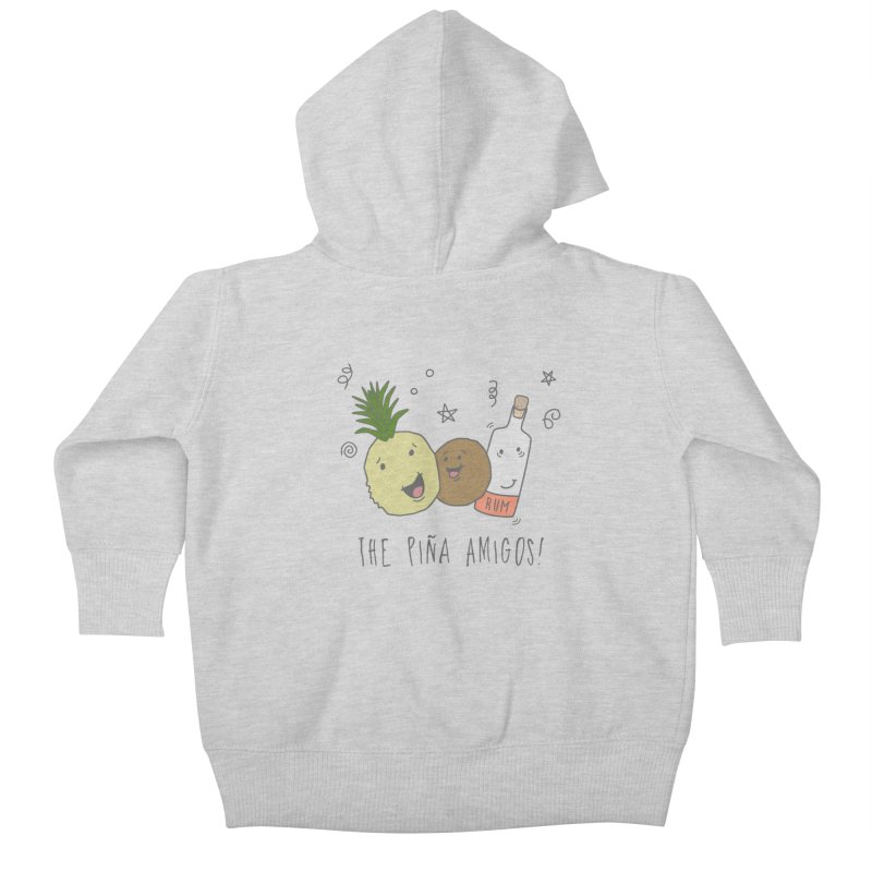 The Pina  Amigos! Kids Baby Zip-Up Hoody by little g dehttps://www.threadless.com/profile/arti