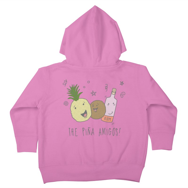 The Pina  Amigos! Kids Toddler Zip-Up Hoody by little g dehttps://www.threadless.com/profile/arti