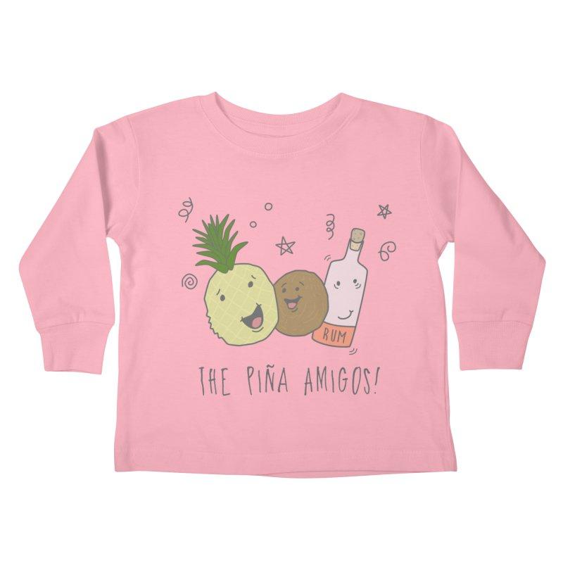 The Pina  Amigos! Kids Toddler Longsleeve T-Shirt by little g dehttps://www.threadless.com/profile/arti