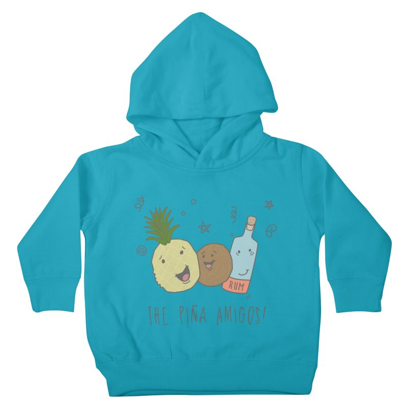 The Pina  Amigos! Kids Toddler Pullover Hoody by little g dehttps://www.threadless.com/profile/arti
