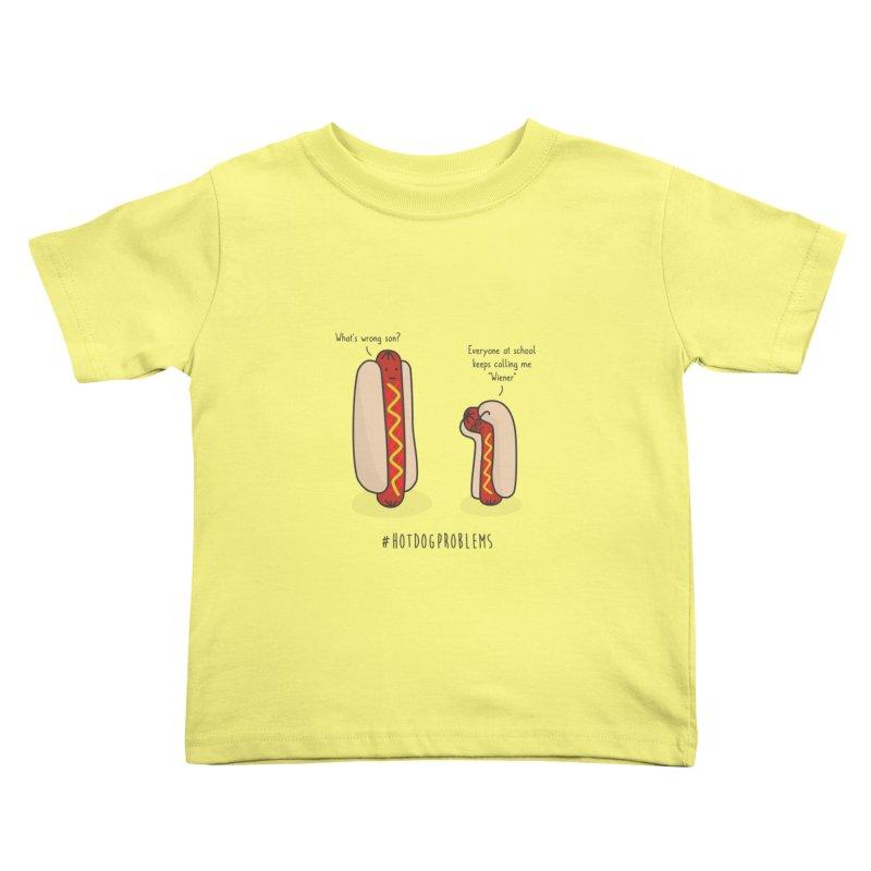#HotDogProblems Kids Toddler T-Shirt by little g dehttps://www.threadless.com/profile/arti