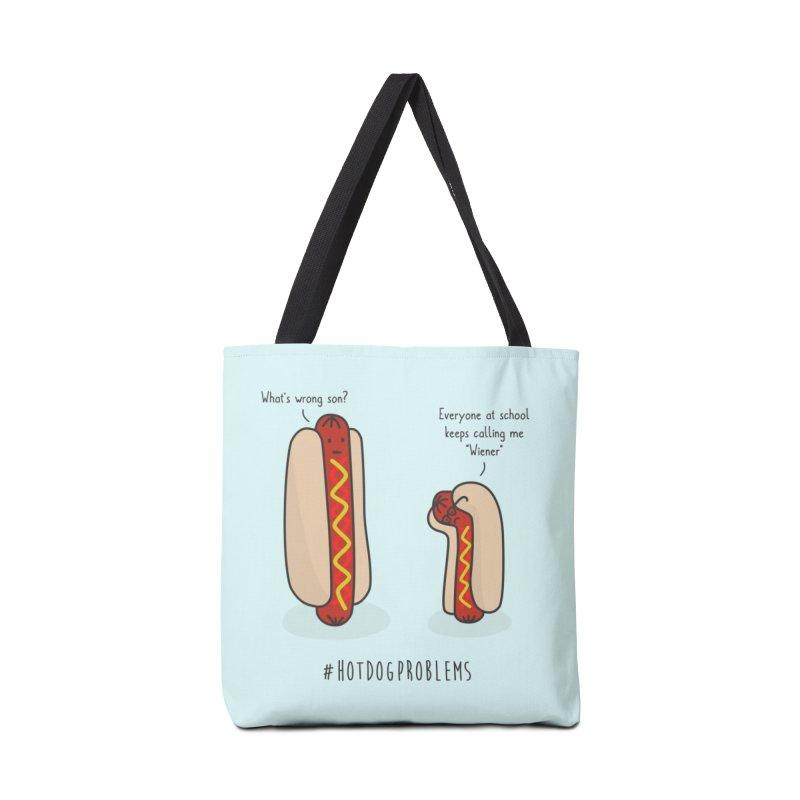 #HotDogProblems Accessories Bag by little g dehttps://www.threadless.com/profile/arti