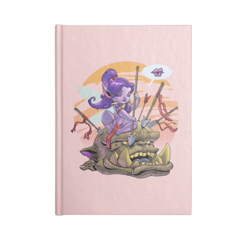 Fairy v Orc Accessories Notebook by Little Ninja Studios