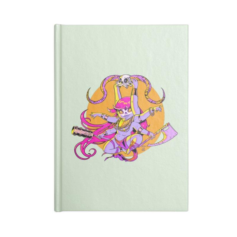 Goddess O' Death Accessories Notebook by Little Ninja Studios