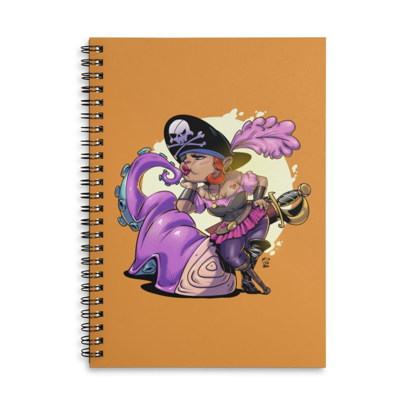 Pirate Sushi Accessories Notebook by Little Ninja Studios