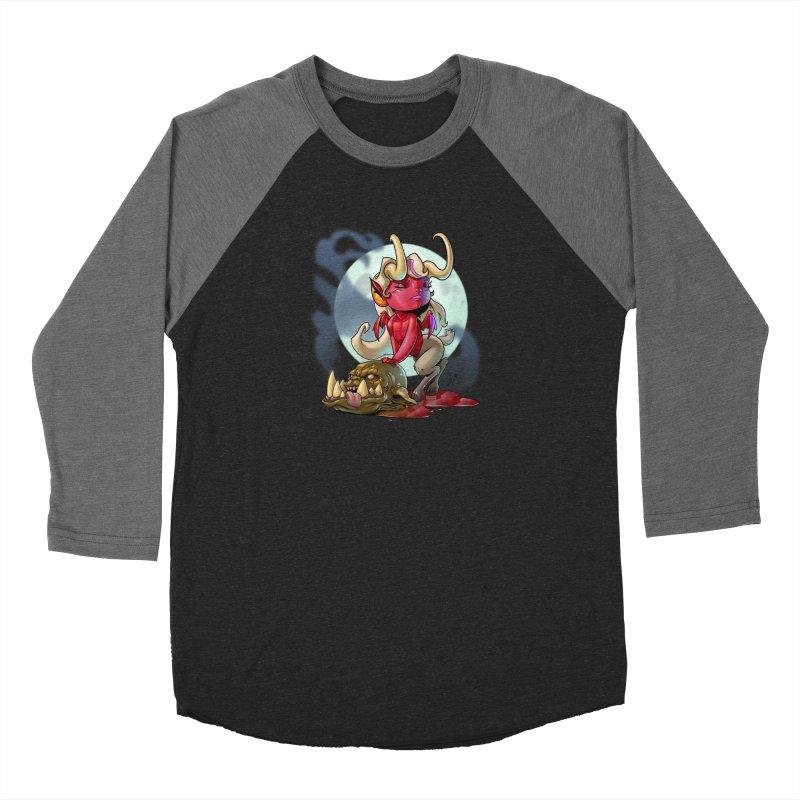 Demoness Women's Longsleeve T-Shirt by Little Ninja Studios