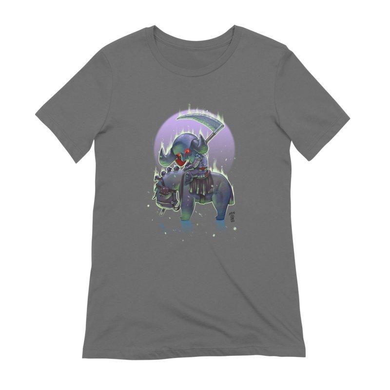 Lil' Dark Equestrian Women's T-Shirt by Little Ninja Studios