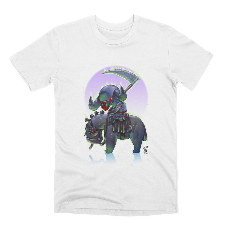 Lil' Dark Equestrian Men's T-Shirt by Little Ninja Studios