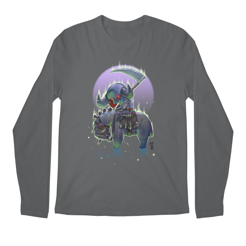 Lil' Dark Equestrian Men's Longsleeve T-Shirt by Little Ninja Studios