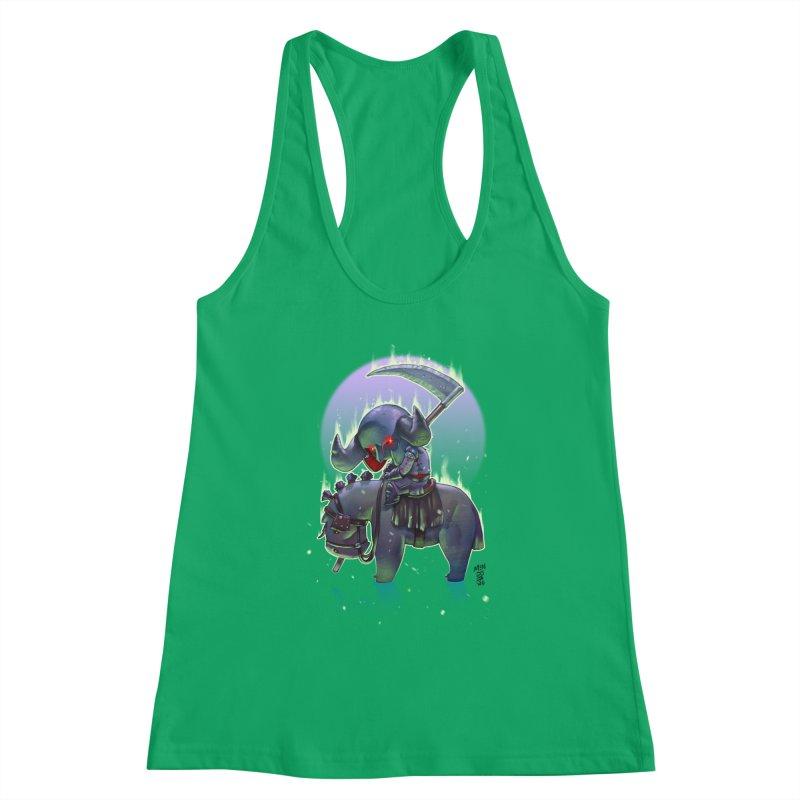 Lil' Dark Equestrian Women's Tank by Little Ninja Studios