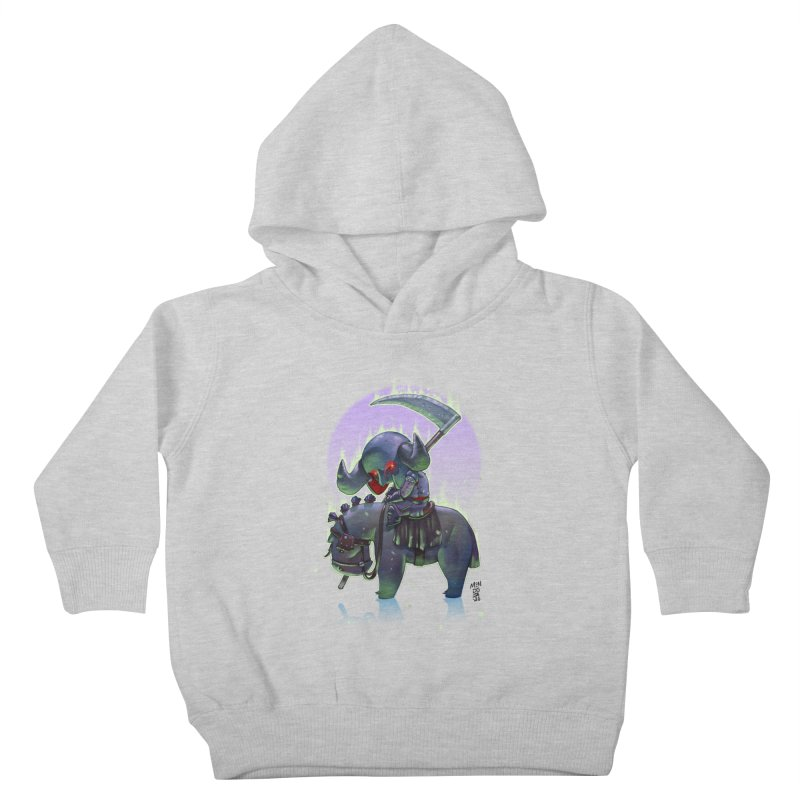 Lil' Dark Equestrian Kids Toddler Pullover Hoody by Little Ninja Studios