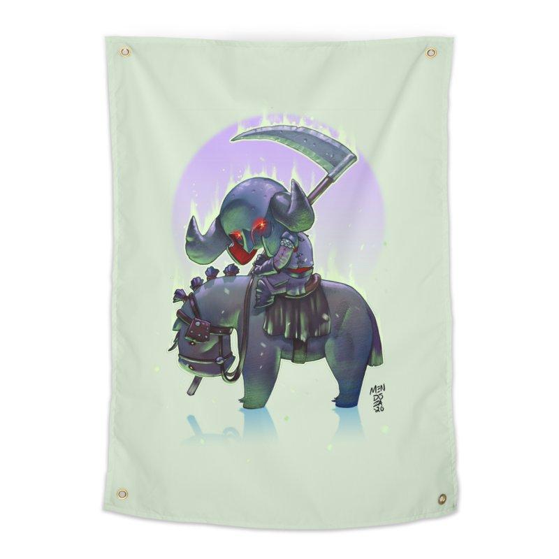 Lil' Dark Equestrian Home Tapestry by Little Ninja Studios