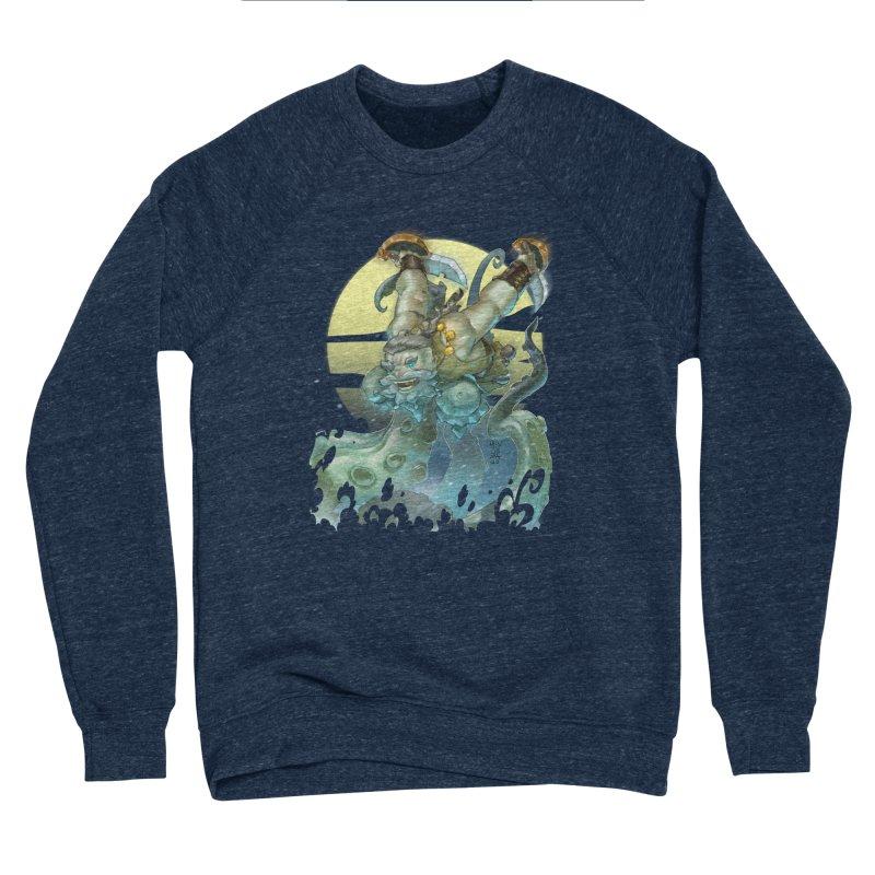 Vs The Kraken Women's Sweatshirt by Little Ninja Studios