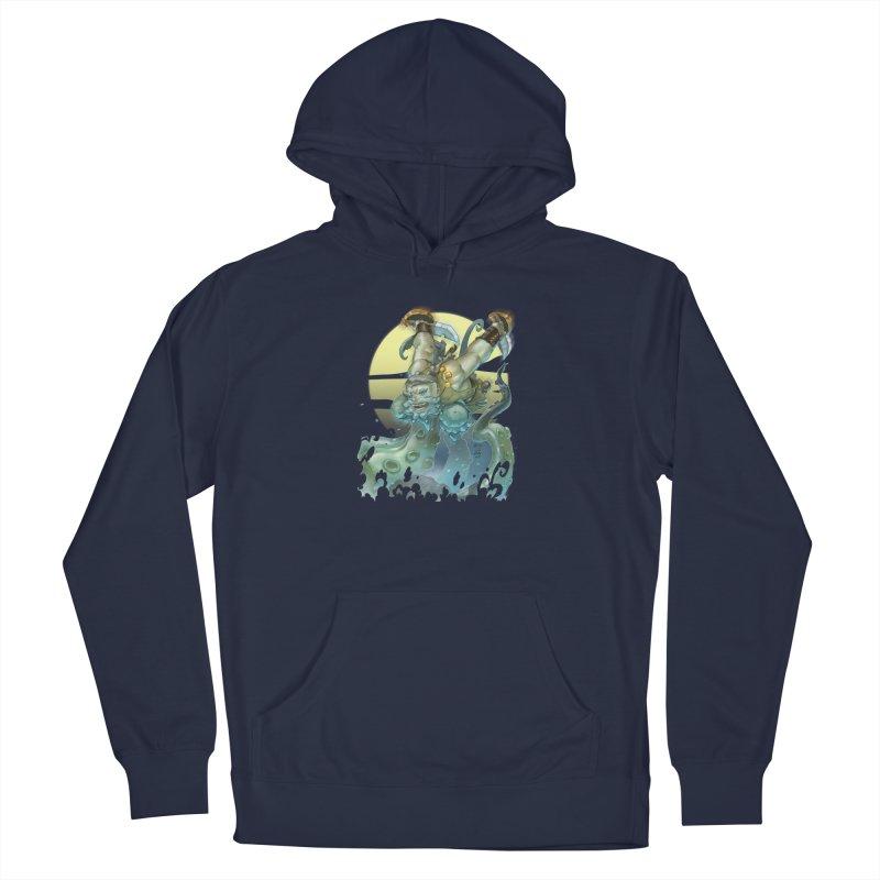 Vs The Kraken Men's Pullover Hoody by Little Ninja Studios