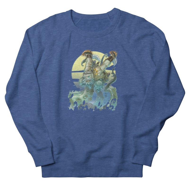 Vs The Kraken Men's Sweatshirt by Little Ninja Studios
