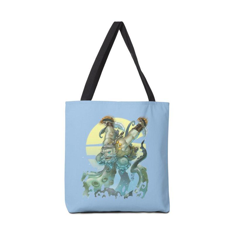 Vs The Kraken Accessories Bag by Little Ninja Studios